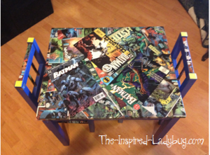 Comic table
